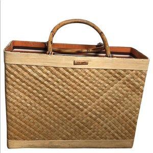 Kate Spade straw box bag